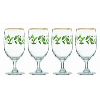 【Lenox Holiday Iced Beverage Glasses, Set of 4 by Lenox】     b00k2sl0yk