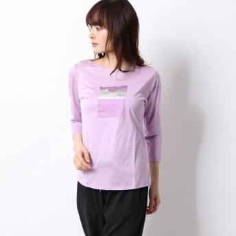ダンスキン DANSKIN レディース フィットネス 半袖Tシャツ 3/4 GRAPHIC TEE DC70112