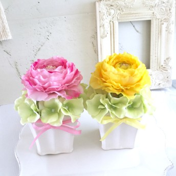 sale ピンクの可愛いラナンキュラス アレンジメント フラワーギフト 誕生日プレゼント 母の日ギフト