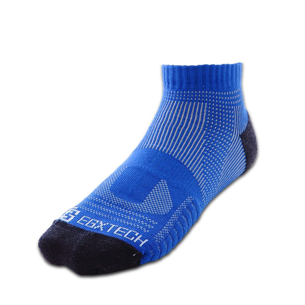 EGXtech 短統多功8字繃運動襪(P81深海藍)2雙組