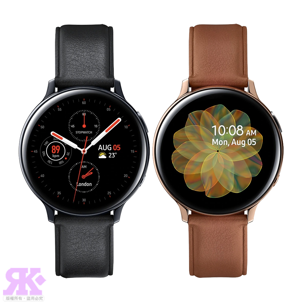Samsung Galaxy Watch Active2 44mm 智慧型手錶-不鏽鋼 R820-贈韓版包+噴劑