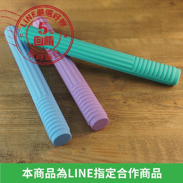 【FunSport】i-Pure 矽膠能量棒(紫/藍/綠)★一把拍通氣血經絡徹底改善痠痛(敲膽經棒/能量按摩棒/筋膜放鬆棒/健康拍打棒/拍痧棒)