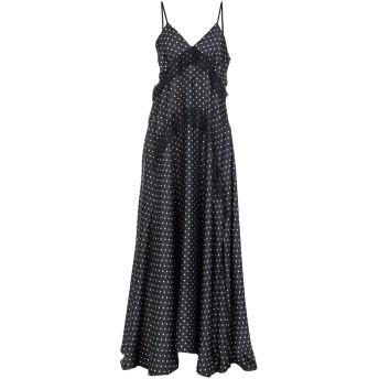 《セール開催中》NORA BARTH レディース ロングワンピース&ドレス ブラック 44 ポリエステル 100%