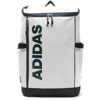 ギャレリア アディダス リュック adidas リュックサック スクールバッグ 通学 通学リュック バッグ バックパック B4 A4 30L 62792 ユニセックス ホワイト F 【GALLERIA】