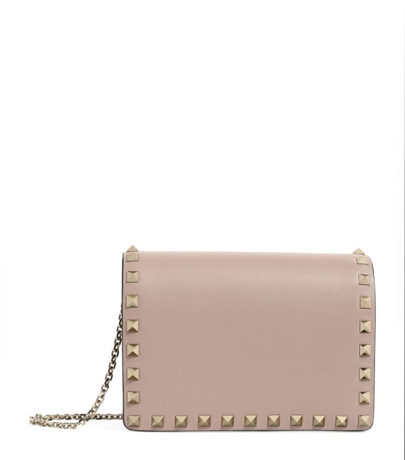 Valentino Valentino Garavani Mini Leather Rockstud Cross-Body Bag