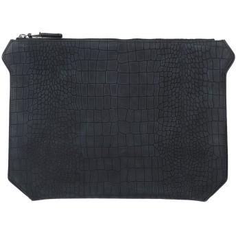 《セール開催中》BUSCEMI メンズ ハンドバッグ ブラック 革