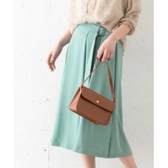 ROSSO(ロッソ) スカート スカート SILVERLIGHTS 2WAYタックフレアスカート【送料無料】