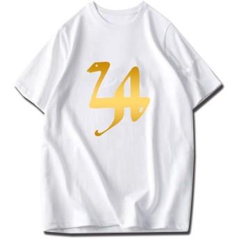 コービー・ブライアント Lakers 24 コービー Kobe Bryant Black Mamba メンズ/レディース Tシャツ 夏服 半袖