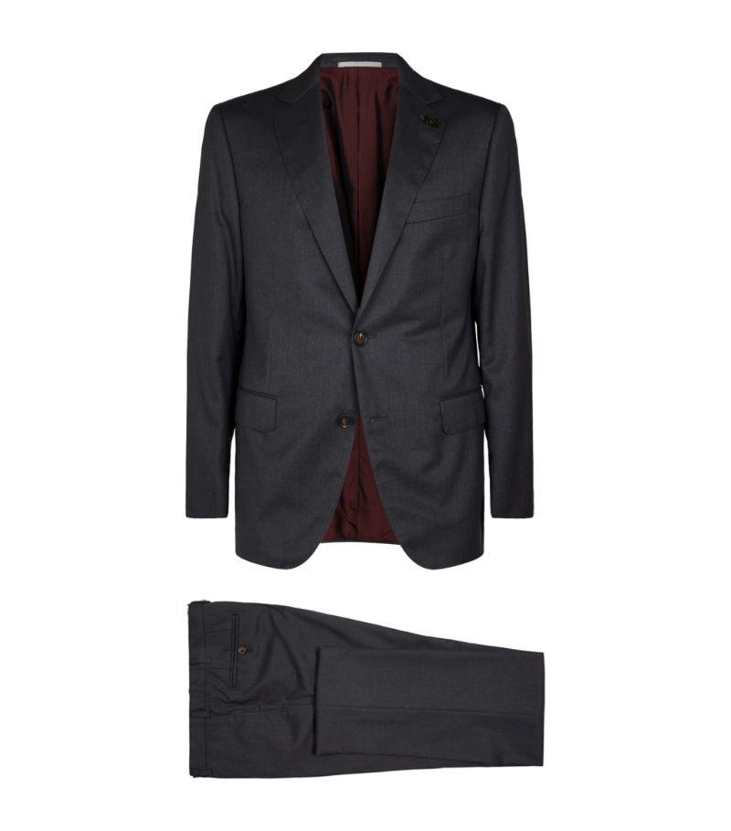 Pal Zileri Textured Wool Suit