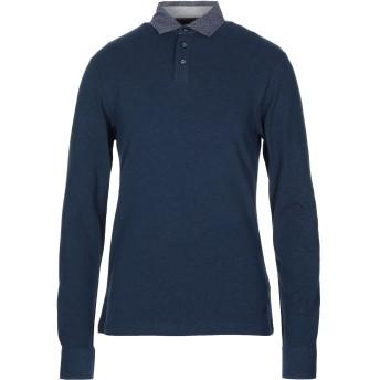 《セール開催中》HACKETT メンズ ポロシャツ ダークブルー S コットン 92% / ポリウレタン 8%
