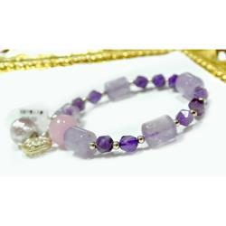 AK~香氛珠寶 二月誕生石 紫水晶精油香氛手鍊/聞香鍊