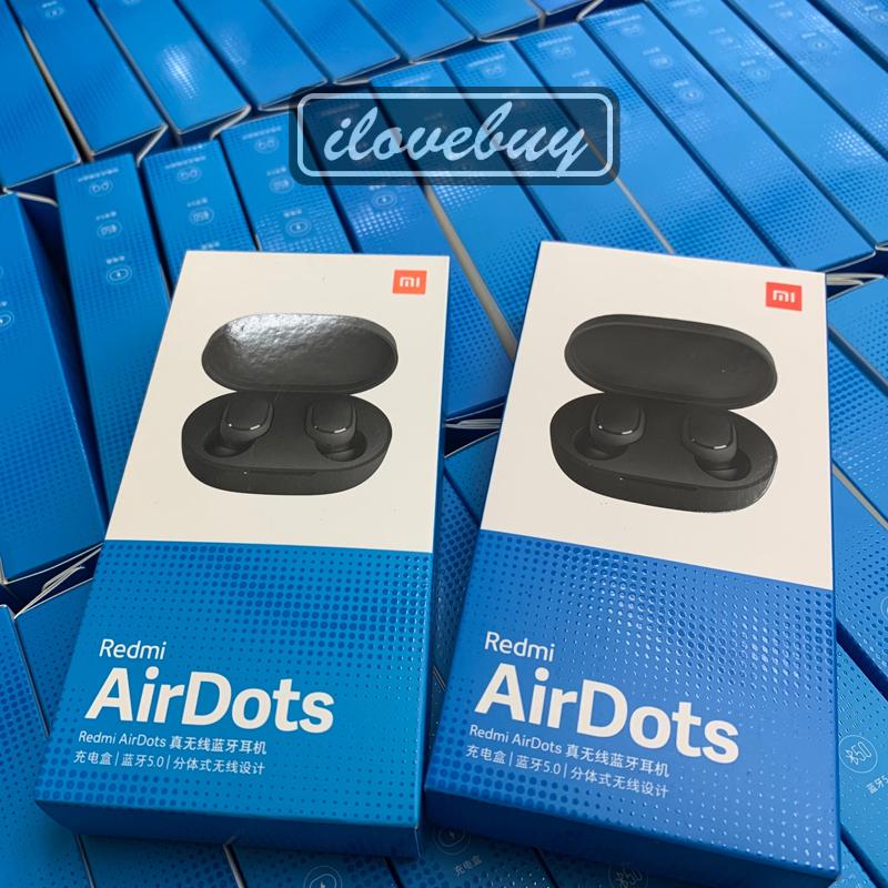 【小米系列】藍牙耳機 Redmi AirDots 原廠公司貨 藍牙5.0 藍芽耳機 真無線 紅米