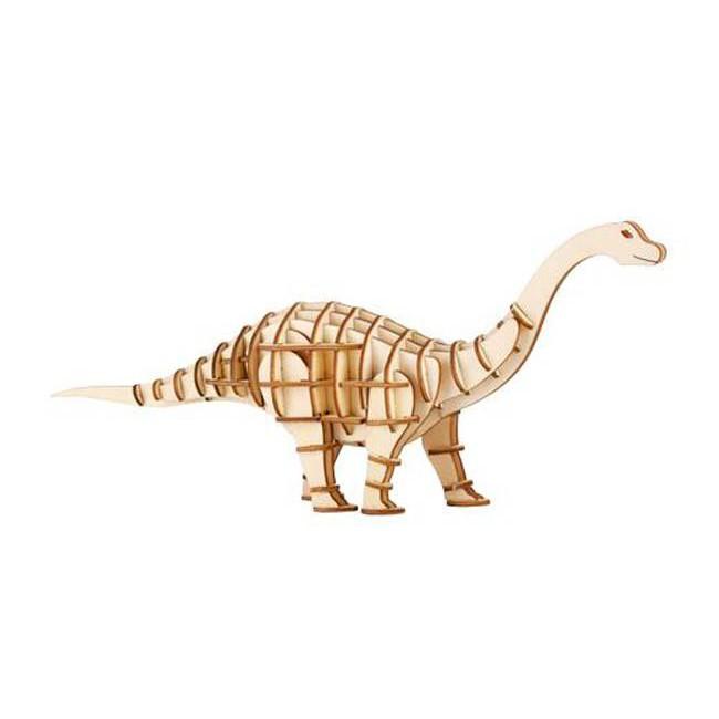 KIKKERLAND 3D Wooden Puzzle/ Apatosaurus 立體拼圖 誠品