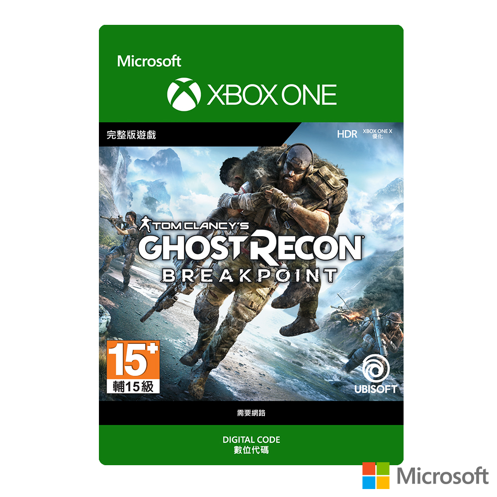 【下載版】Microsoft 微軟 火線獵殺:絕境 (Tom Clancy's Ghost Recon Breakpoint)
