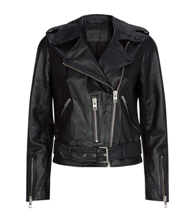 Allsaints Leather Balfern Biker Jacket