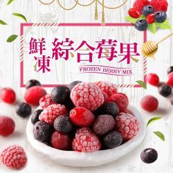 好食讚 綜合鮮凍莓果10包組(200g±10%/包)