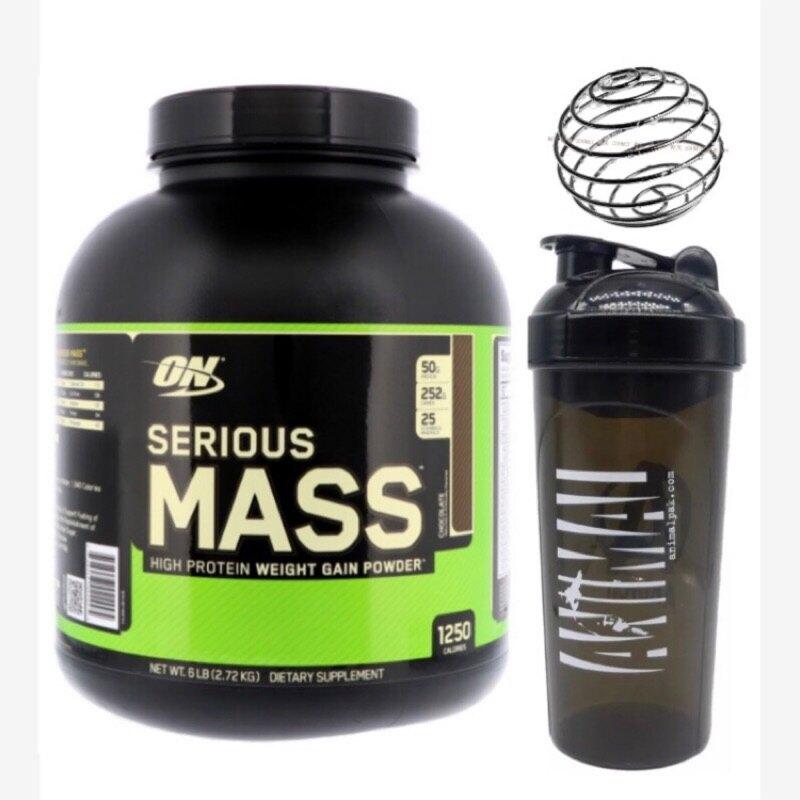 **送搖搖杯** ON 高熱量  乳清蛋白 6磅 serious mass 高熱量 重量 體態增加  重訓  肌肉 健身