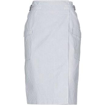《セール開催中》STEFANEL レディース ひざ丈スカート ダークブルー 36 コットン 60% / ポリエステル 40%