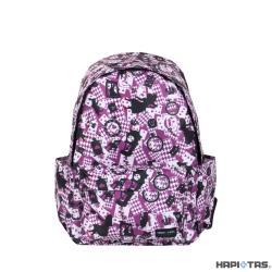 HAPI+TAS HAP0092 新型摺疊後背包-295新版粉色愛麗絲