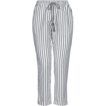 《セール開催中》SUNCOO レディース パンツ ホワイト 0 リネン 100%