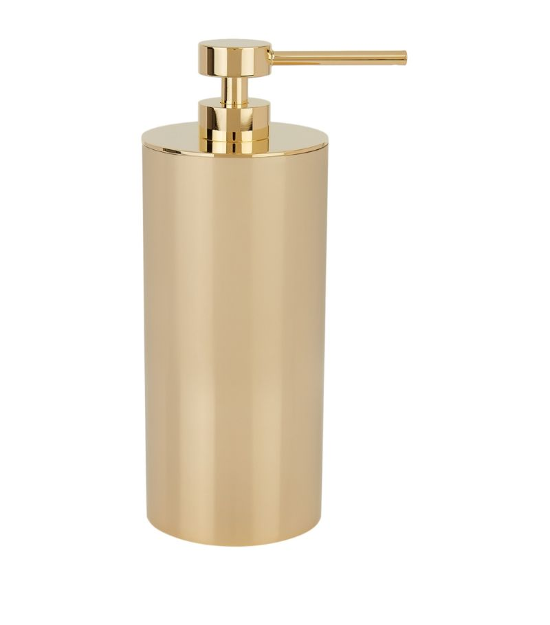 Zodiac Cylinder Gold-Plated Soap Dispenser