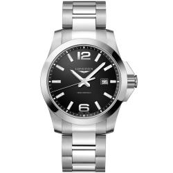 LONGINES 海洋征服者石英300米潛水錶(L37604566)
