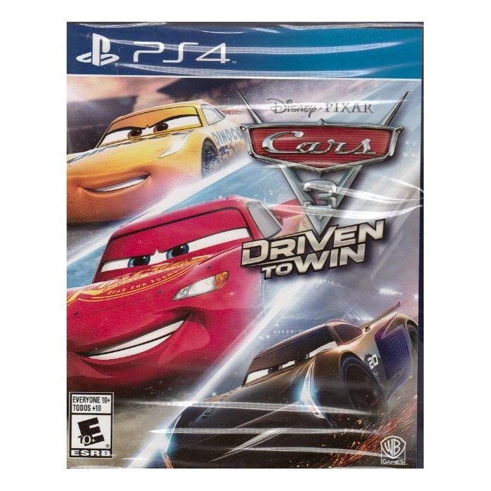 PS4 汽車總動員 3 全力取勝 Cars 3  Driven to Win -PS4