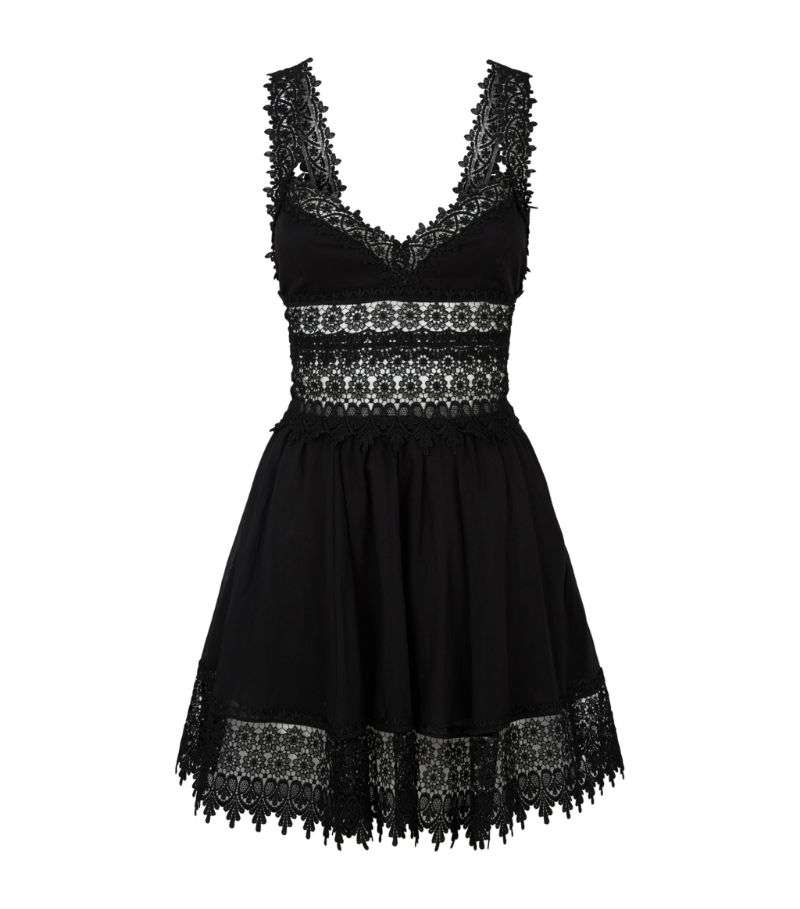Charo Ruiz Ibiza Marylin Lace-Detail Dress