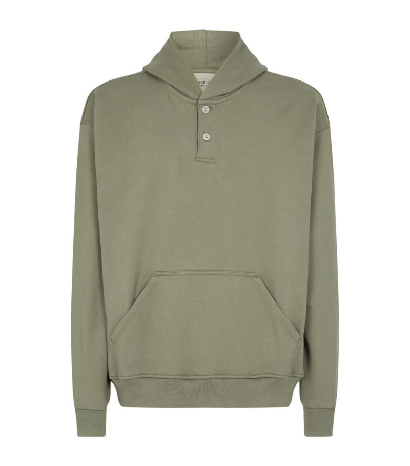 Fear Of God Everyday Henley Hoodie
