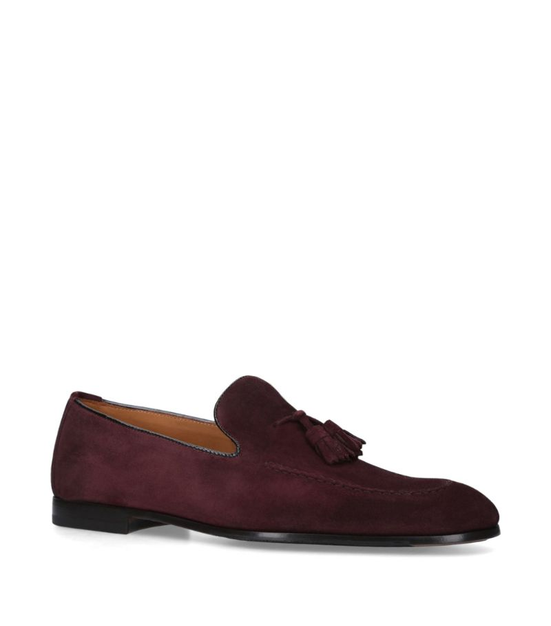 Doucal'S Suede Tassel Loafers
