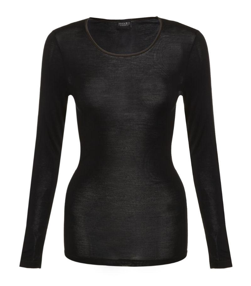 Hanro Pure Silk Long Sleeve Top