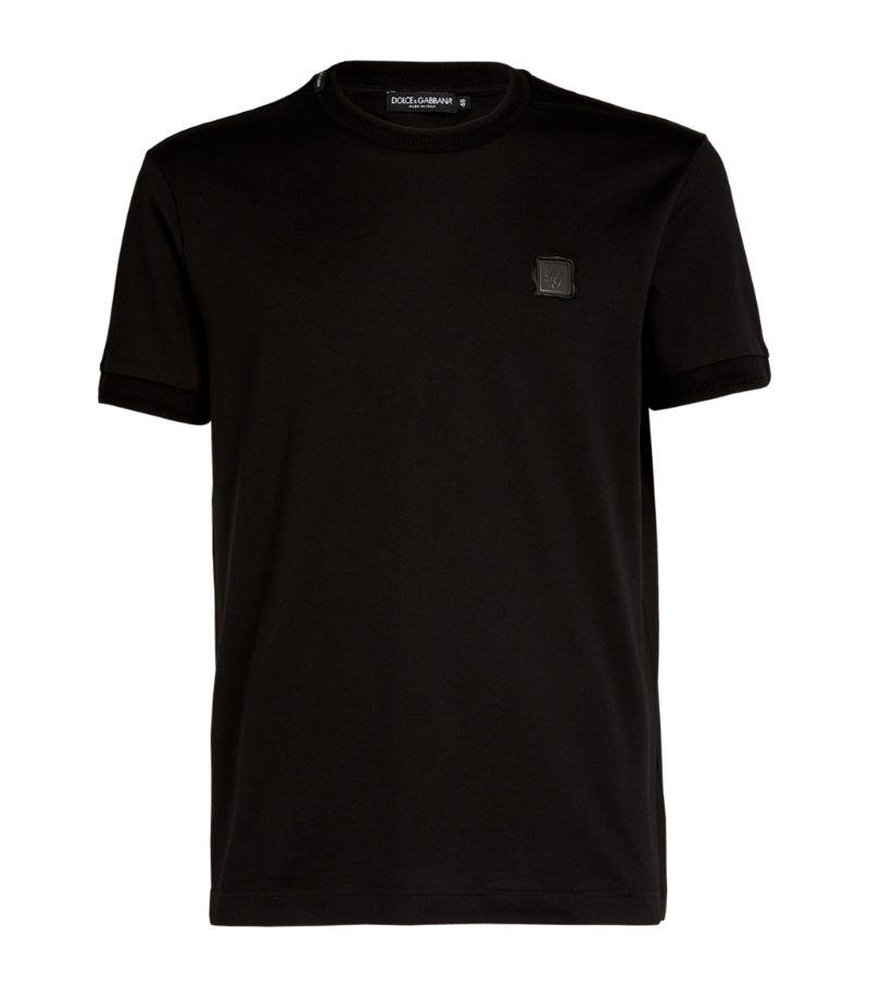 Dolce & Gabbana Cotton Logo T-Shirt