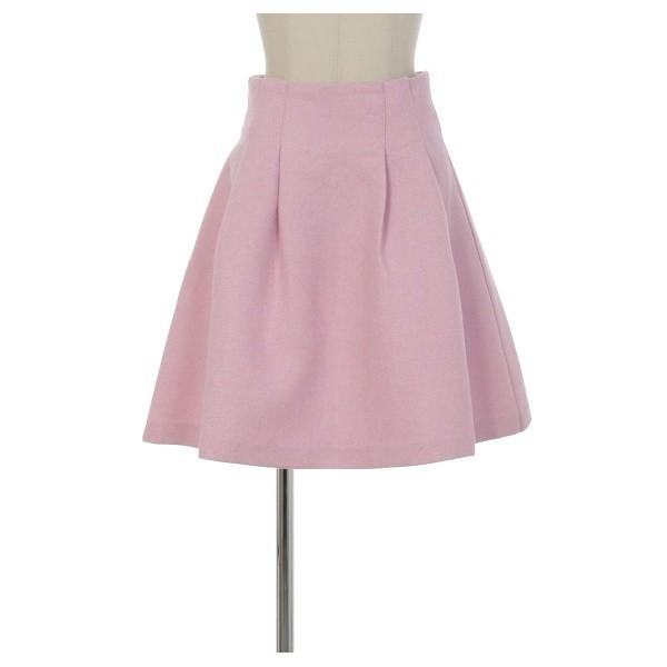 titty&Co.【Y9120-004】高腰百搭A字裙 粉紅色
