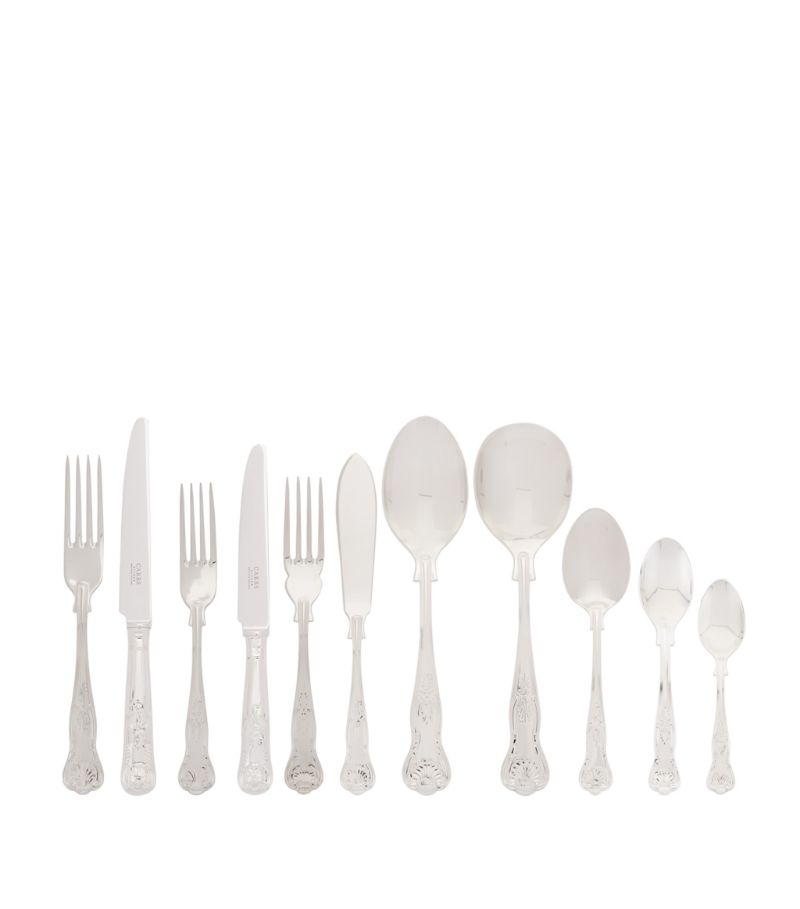 Carrs Silver Kings Stainless Steel 88-Piece Cutlery Set