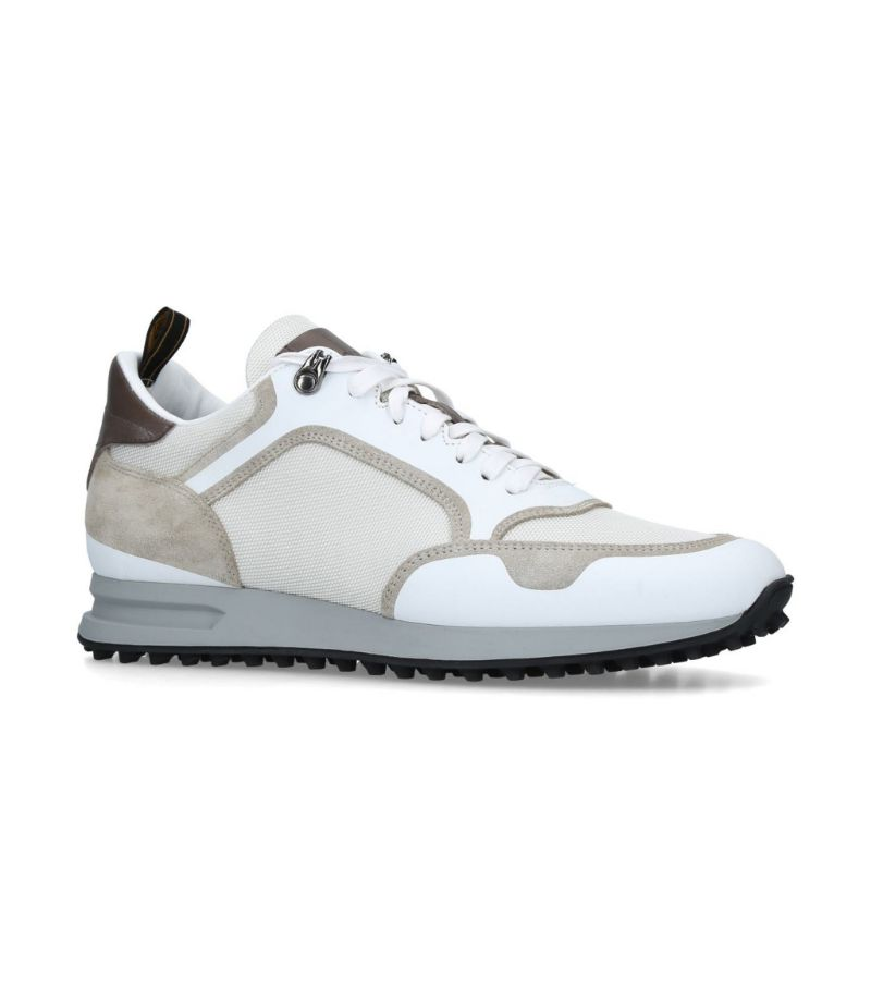 Dunhill Radial Mesh Panel Sneakers