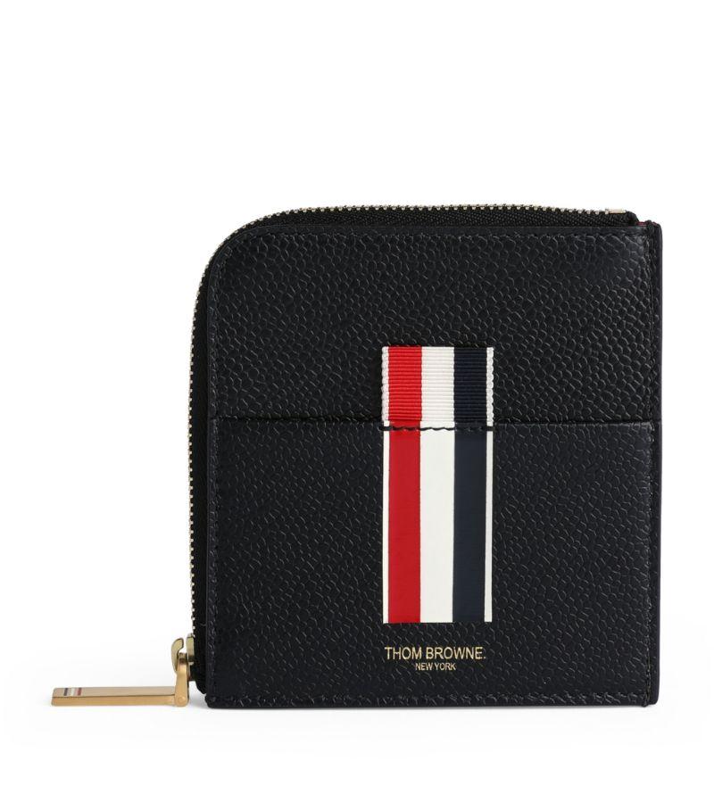 Thom Browne Leather Zip Wallet
