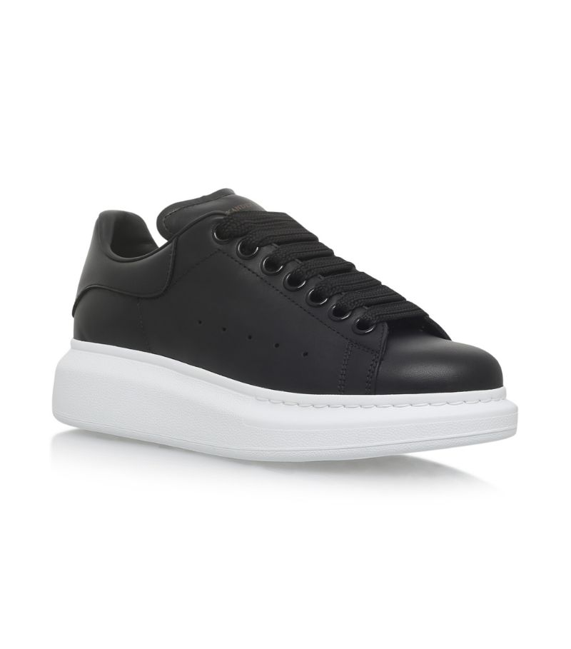 Alexander Mcqueen Leather Runway Sneakers