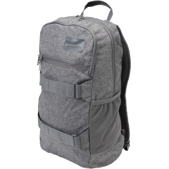 《セール開催中》PUMA Unisex バックパック&ヒップバッグ グレー ポリエステル 100% Street Backpack II CASTLEROCKHeat