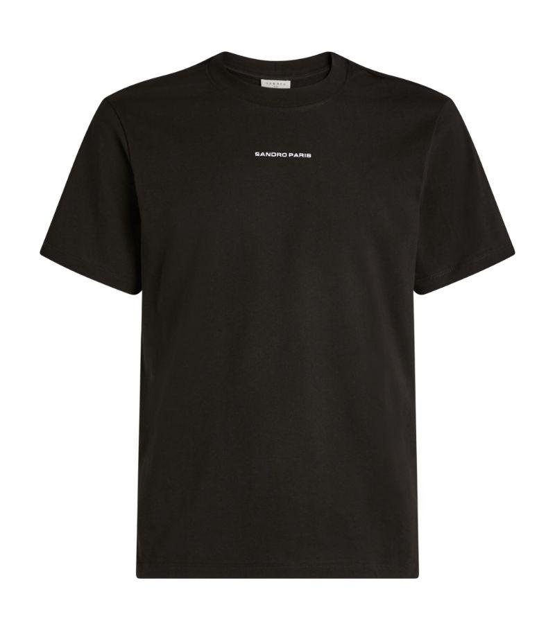 Sandro Paris Cotton Logo T-Shirt