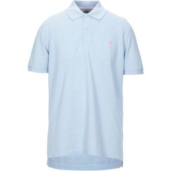 《セール開催中》BROOKS BROTHERS メンズ ポロシャツ スカイブルー M スーピマ 100%