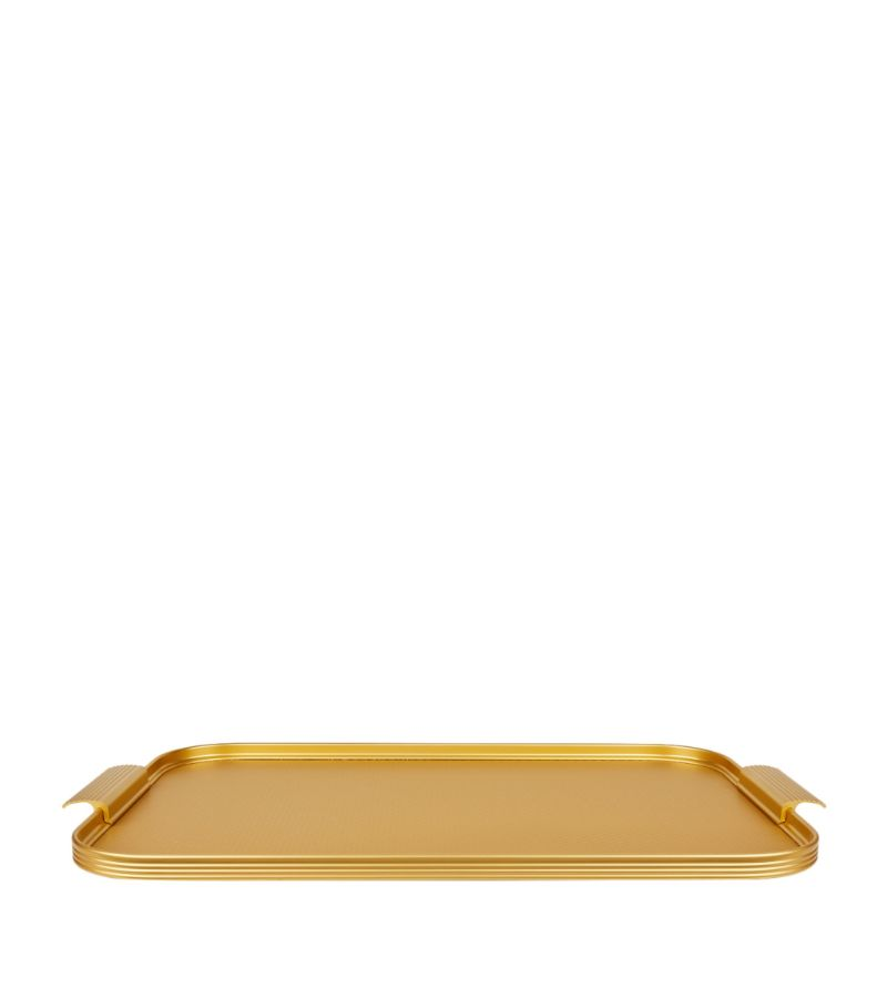 Kaymet Ribbed Serving Tray (46Cm)