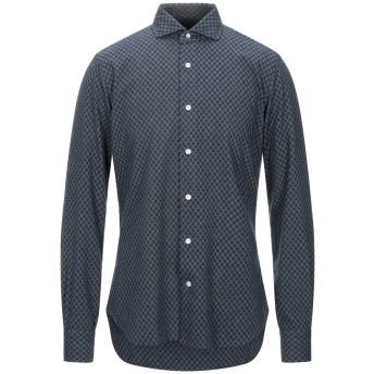 《セール開催中》BARBA Napoli メンズ シャツ ブルー 40 コットン 100%