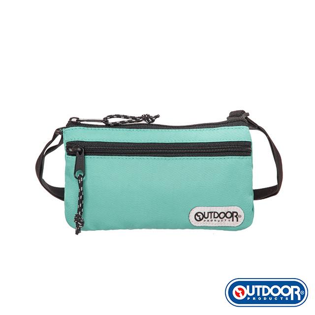 【OUTDOOR】隨身側背包-薄荷綠 OD101125MT