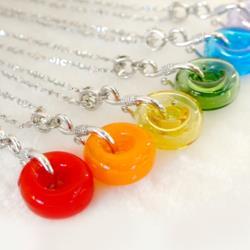 AK~香氛珠寶-大甜甜圈精油香氛項鍊/天然石 半寶石飾品