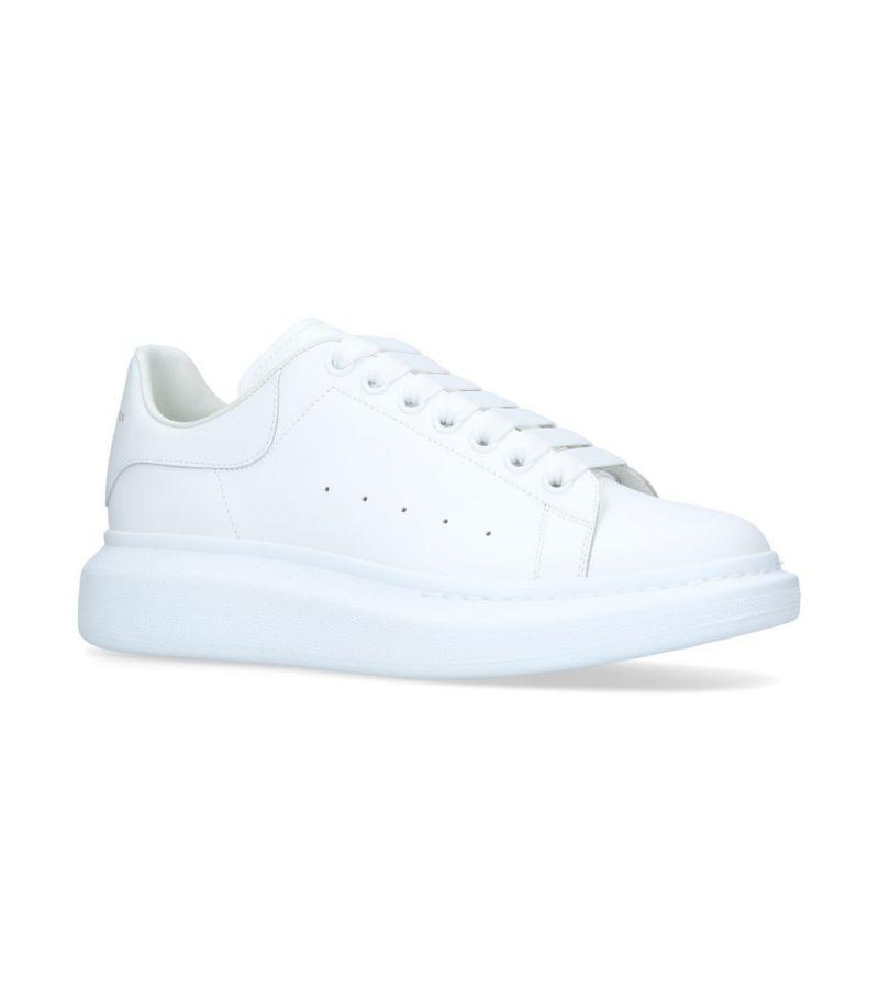 Alexander Mcqueen Leather Show Sneakers