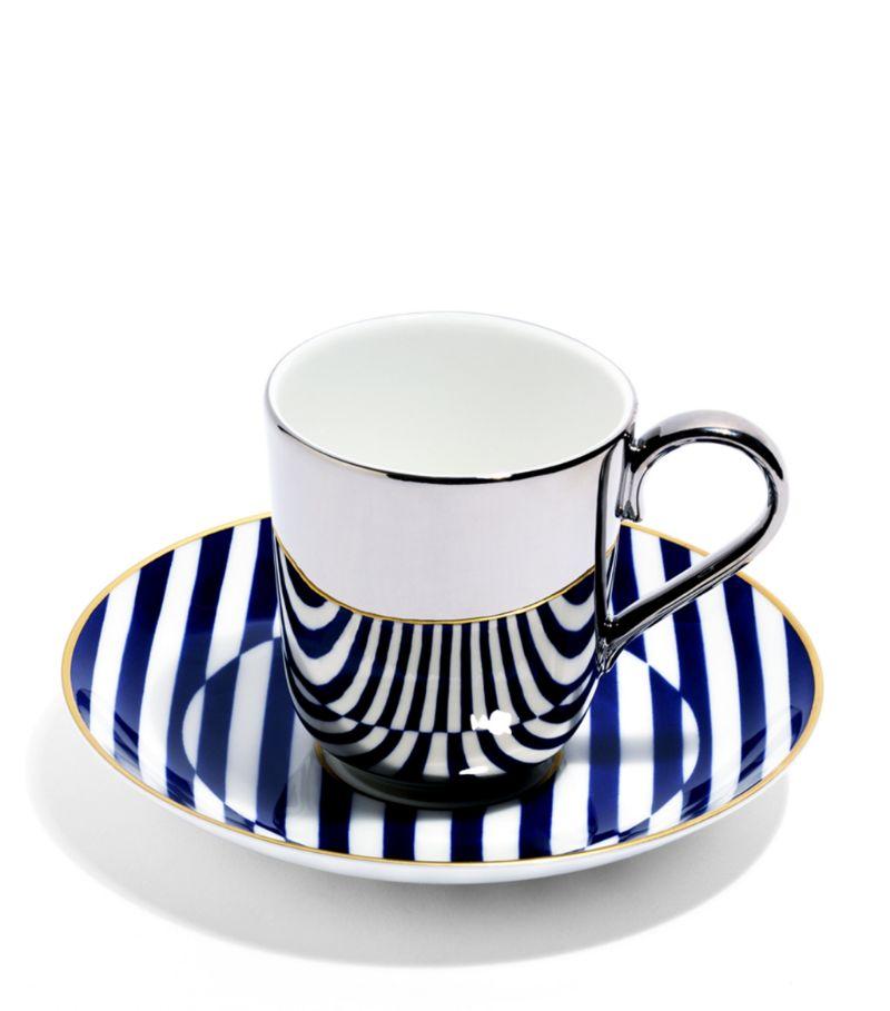 Richard Brendon Warp Espresso Cup And Saucer