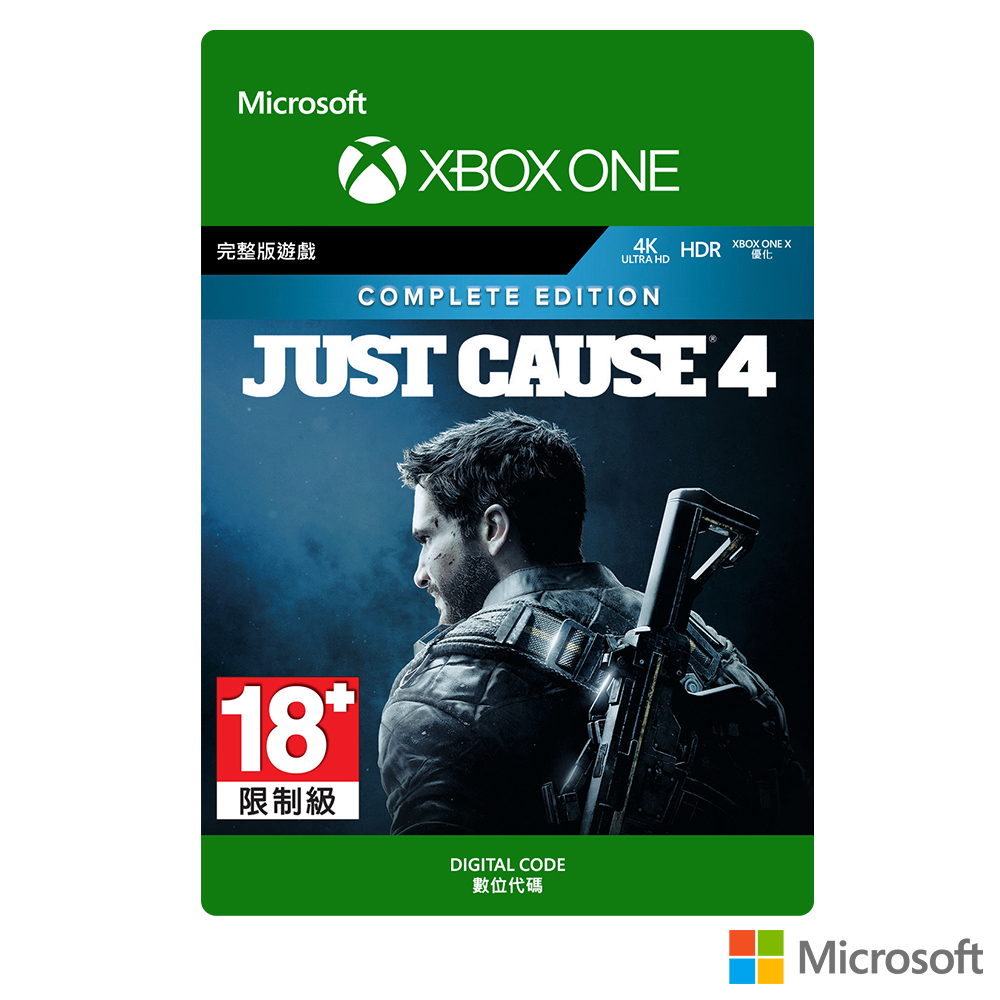 【下載版】Microsoft 微軟 正當防衛4 完整版 (Just Cause 4:Complete Edition)