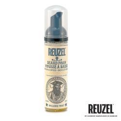 REUZEL Wood  Spice Beard Foam 免沖保濕養護鬍鬚泡沫(清新木質調) 70ml