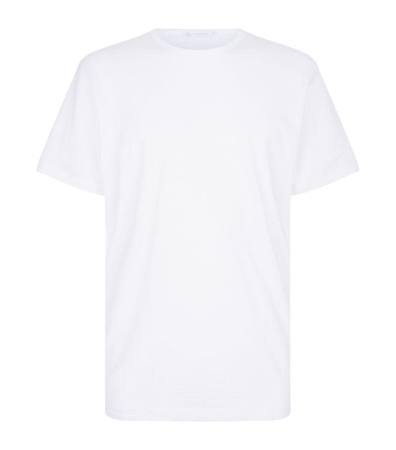 Sunspel Cellular Cotton T-Shirt
