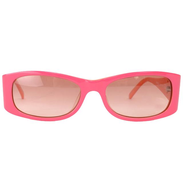 【Vivienne Westwood】英倫土星撞色款太陽眼鏡(粉/橘) VW558-03